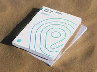 Geo Design, III minimal badge branding pin geography location mark logo design logo gradient report book mockup