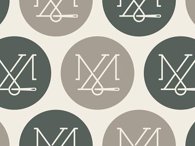 Made in London, Custom Tailor - 30 Days of Logos minimal mark logo design typography branding london logo loop monogram tailor thread needle