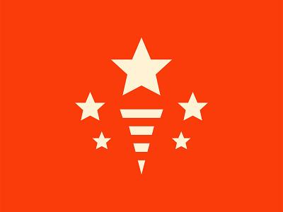 Team USA – Olympic Logo Concept brand mark olympics minimal america star torch usa branding logo