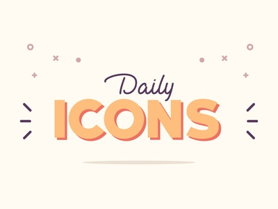 Daily Icons Project icon design inspiration design project icons daily icons