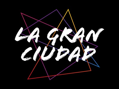 La Gran Ciudad youth urban shirt lines transforms colors big city