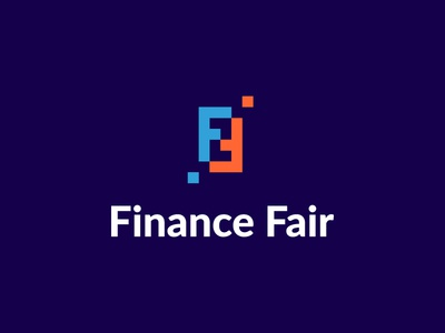 Finance Fair financial branding logo design