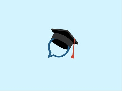 School logo concept learn colors concept logo