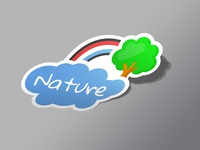 Dutch nature sticker