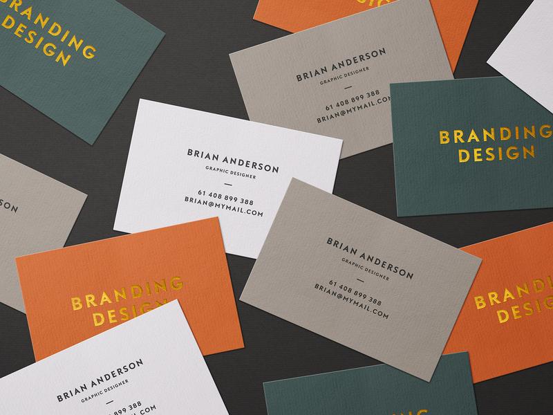 Selva: Business Card Mockup Kit