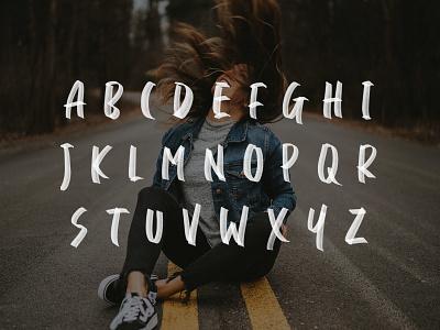 Daviton SVG Freestyle Font #3 download urban svg quotes ligatures handmade typeface font display brush