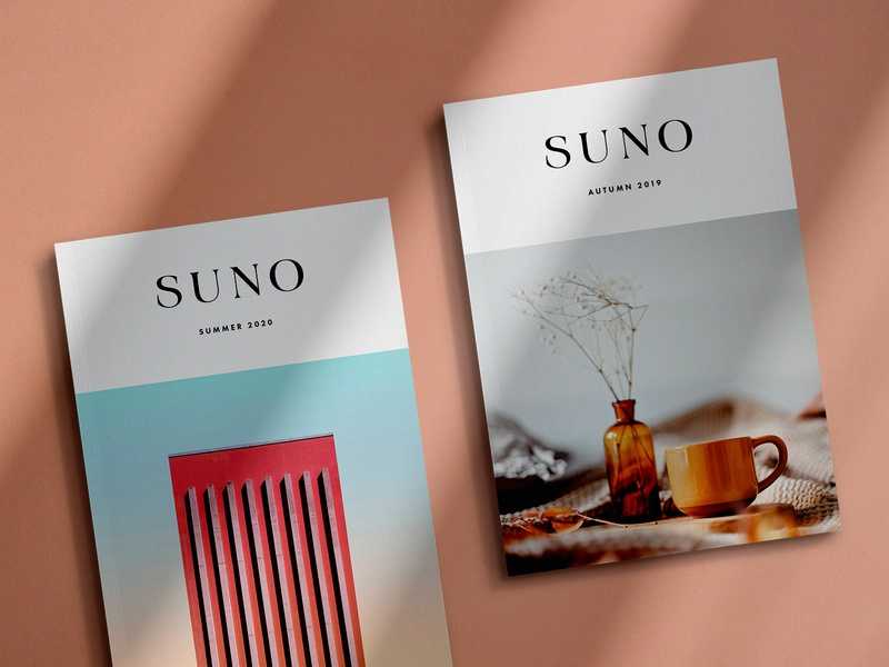 Suno Magazine Mockup Kit top view shadows lookbook lifestyle us paper a4 ebook showcase book cover realistic sunlight psd simple shadow print creator scene mockup magazine
