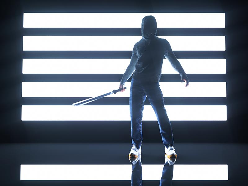 NÎNJÎGHT cyberpunk scifi photoshop after effects cgi 3d x particles octane render octane c4d cinema 4d