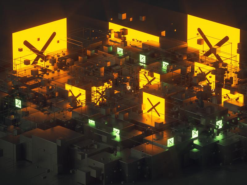 ISOXX cyberpunk scifi photoshop after effects cgi 3d x particles octane render octane c4d cinema 4d