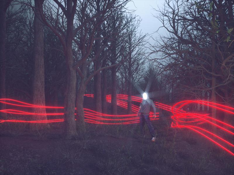 hansel stranger things forest c4d maxon otoy octane render octane horror techy scifi cinema 4d