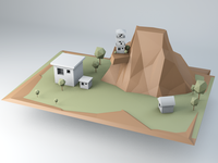 Low Poly Scenery