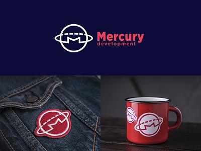 my Mercury Logo for Design Contest mercury mercdev identity logo