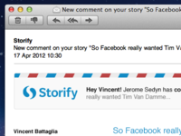 Storify - email template header