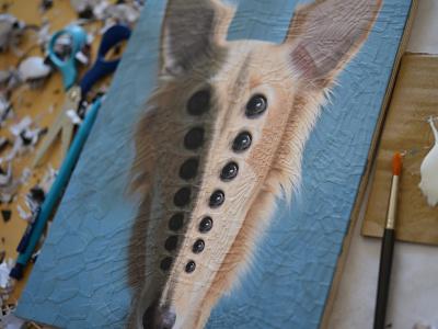 Cleo, detail dogstudio scissors portrait dogs dog eyes