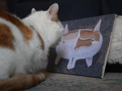 Charlie with Charlie 31 cat portrait portrait illustration portrait cats cat charlie