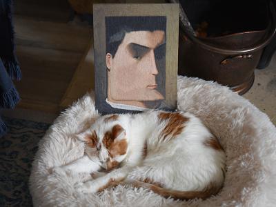 After Leon Bonnat, Charlie illustration paper charlie portrait
