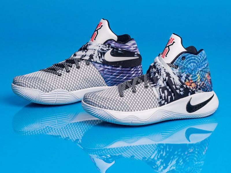 new concept d52d6 e6add Nike Basketball Kyrie 2 EFFECT blue
