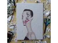 Tina Chow By Andy Warhol Manipulation