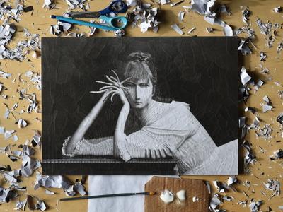 studio photo, Marie Bashkirtseff