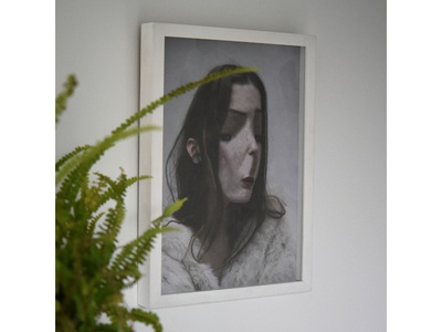 Framed, Untitled Portrait, Lola Dupre and Tre Koch
