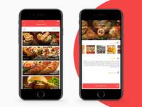 Food deliver iOS app