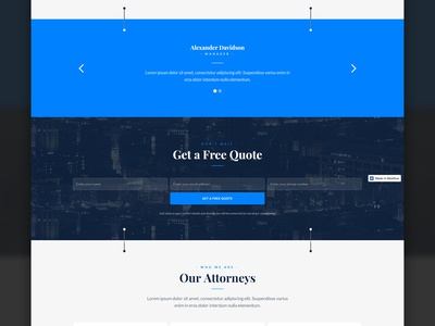 Outlaw - Law Firm Template website theme template responsive page office muse law landing firm attorney