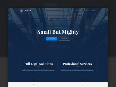 Outlaw - Law Firm Template