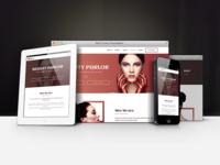 Naomi  - Beauty Salon Landing Page Template