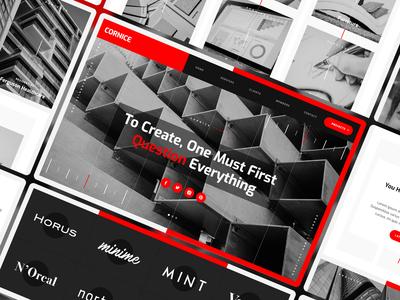 Cornice - Architectue Website Template