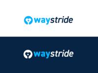 Waystride Logo Design