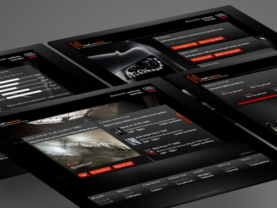audi Copa Horch (the old times) audi ux ui design web
