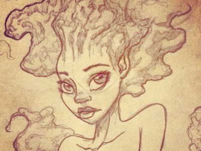 Doodling things pencil doodle illustration draw