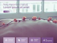 Centro Quiropractico Madrid website