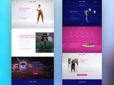 Mustang & Love the 90's 90 fashion design web marketing