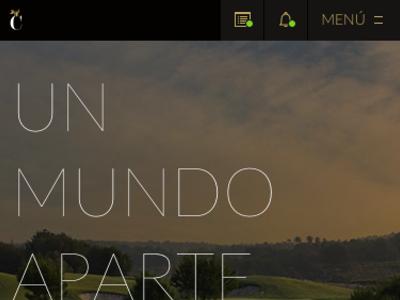 WIP - Resort App golf resort design ui ux mobile app