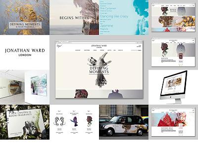 Jonathan Ward London branding brand identity design copywriting