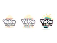Yoloo Popcorn Logo Concepts