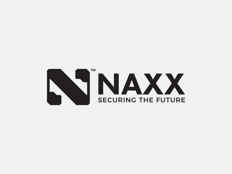 NAXX - Security Logo creative secret bold bold mark solid metal logo metal n monogram n letter n mark n logo branding safe safe logo camera security camera security logo secure logo security