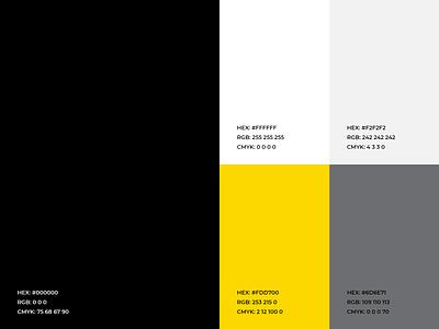 Audiomelt - Color Palette minimal yellow sound colors sound logo sound audio brand logo design colour scheme color scheme color palette color brand colors branding identity logo app music audio