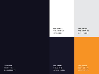 Z-Motors - Color Palette blue orange brand colours branding colors identity colors ui clean simple colors palette modern speed color combination colours color schemes colorscheme colors creative