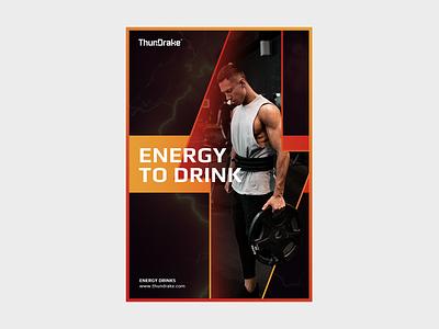 ThunDrake Advertising a4 print design printmaking modern print energy logo adsense ads design ad design ad logo ad ads advertising