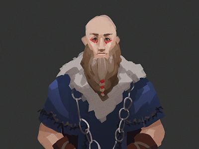 Viking Concept Art sketch videogame scholar priest illustration viking art concept