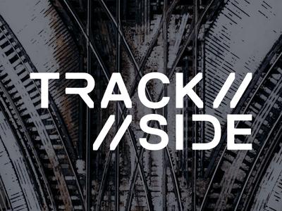 Trackside logotype branding identity logo