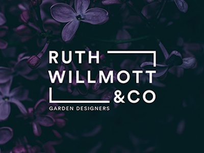 Ruthwillmott Logotype garden design logotype branding identity logo