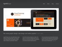 Agent8 Design website launch