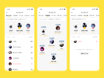 Ranking List icons realistic ranking list ux dribbble app card design ui