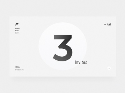 3x Invites owl three 3 dribbble invites design ui