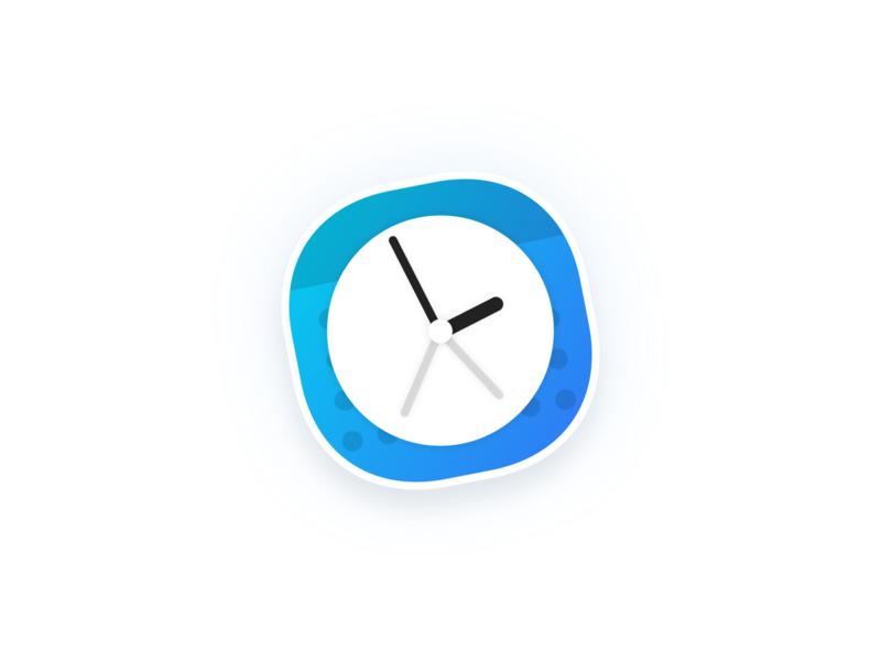 Clocker App Icon calendar clocker clock mac app icon app icon mac os