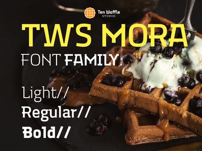 TWS MORA font family
