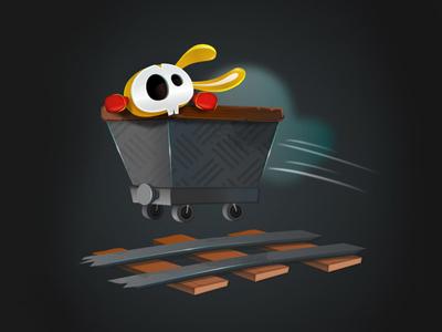 Mine Yours vectober vectors illustration character-design game-design